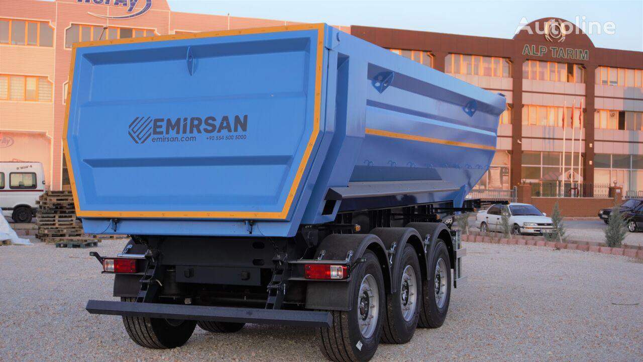 EMIRSAN 20-45 M3 HARDOX Semi Tippers  Direct from Factory  tipper semi-trailer