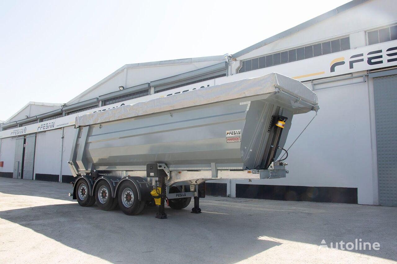 new FESAN FNW-33 tipper semi-trailer