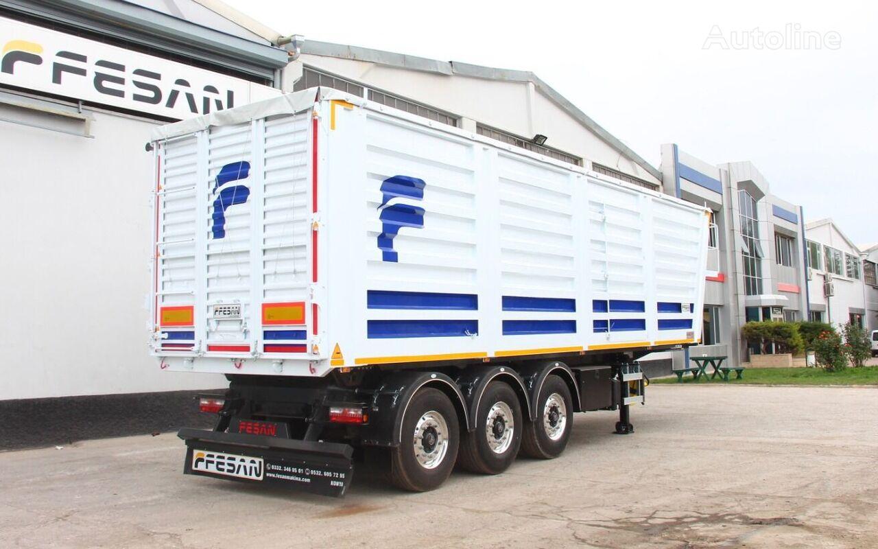 new FESAN ZERNOVOZ tipper semi-trailer
