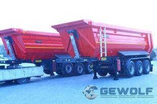 new GEWOLF GEWOLF 24-26 m3 Hardox U-type tipper semi-trailer