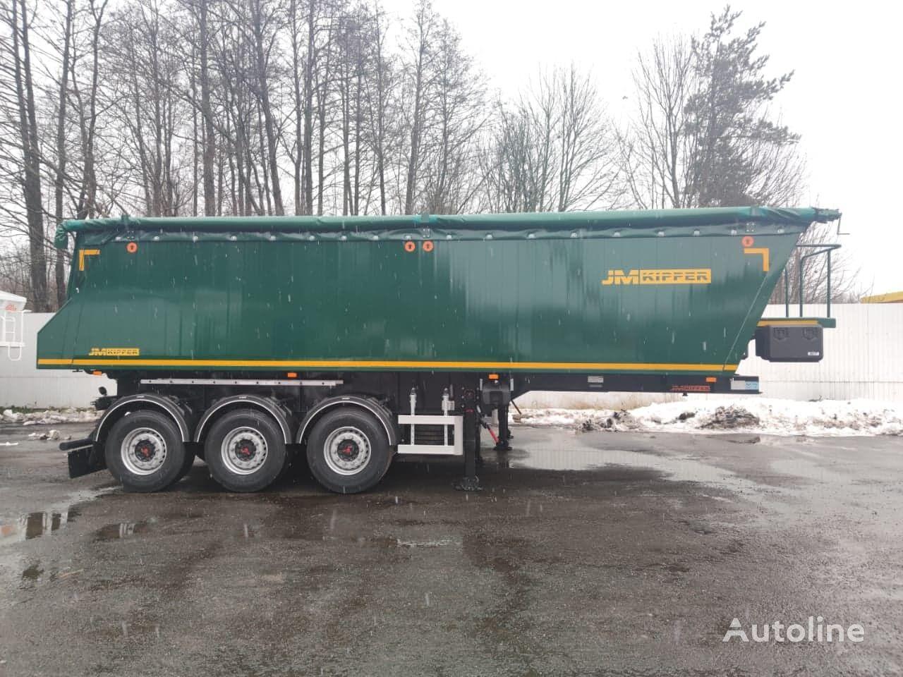 new JM-KIPPER 35m3 Aluminiowa tipper semi-trailer