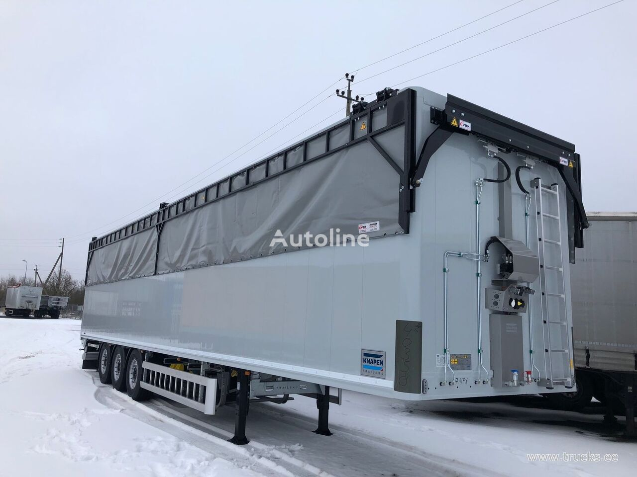 KNAPEN tipper semi-trailer