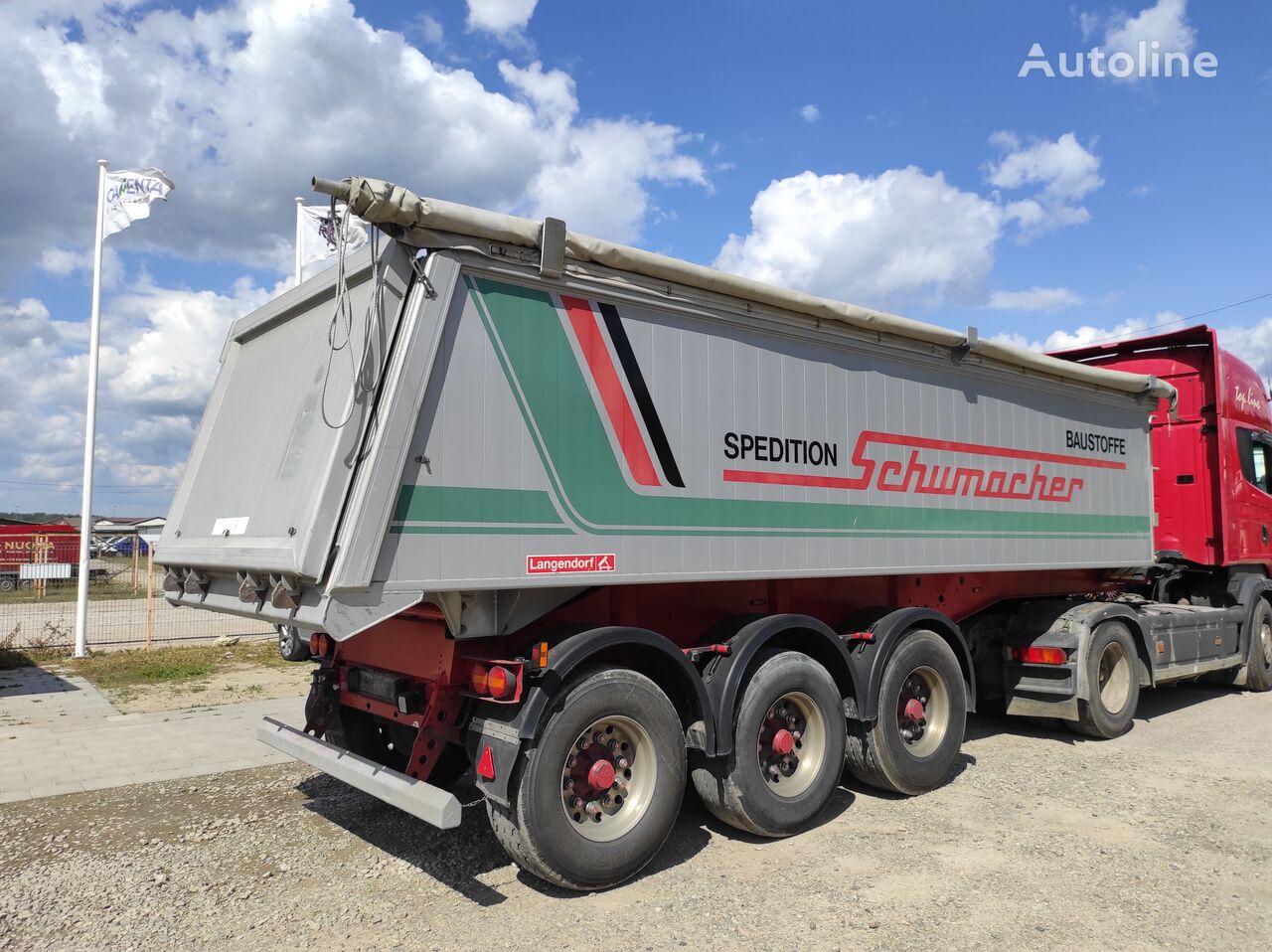 LANGENDORF SKA 24 tipper semi-trailer