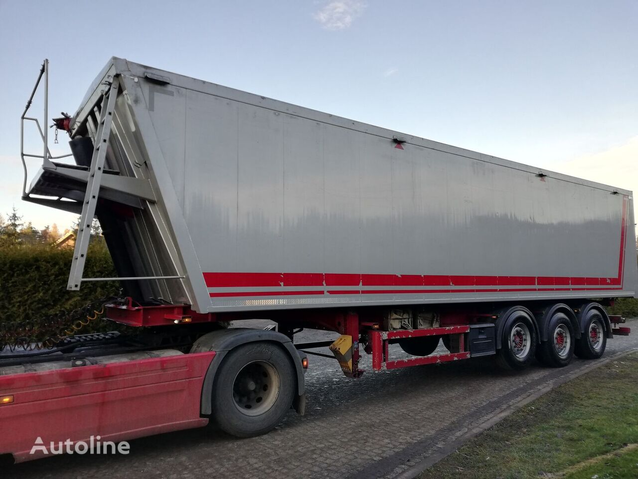 Lueck WYWROTKA  tipper semi-trailer