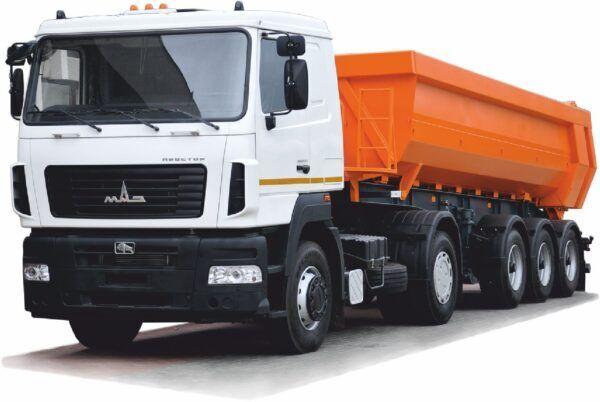new MAZ 953001-010 tipper semi-trailer