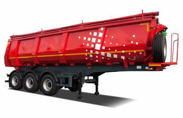 new MAZ 953003-030-000 tipper semi-trailer