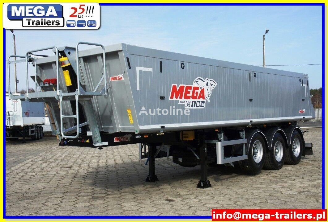 new MEGA 25 m³ - Super Light - 5.190 kg ! Alubox tipper REDUCE PRICE 2019 tipper semi-trailer