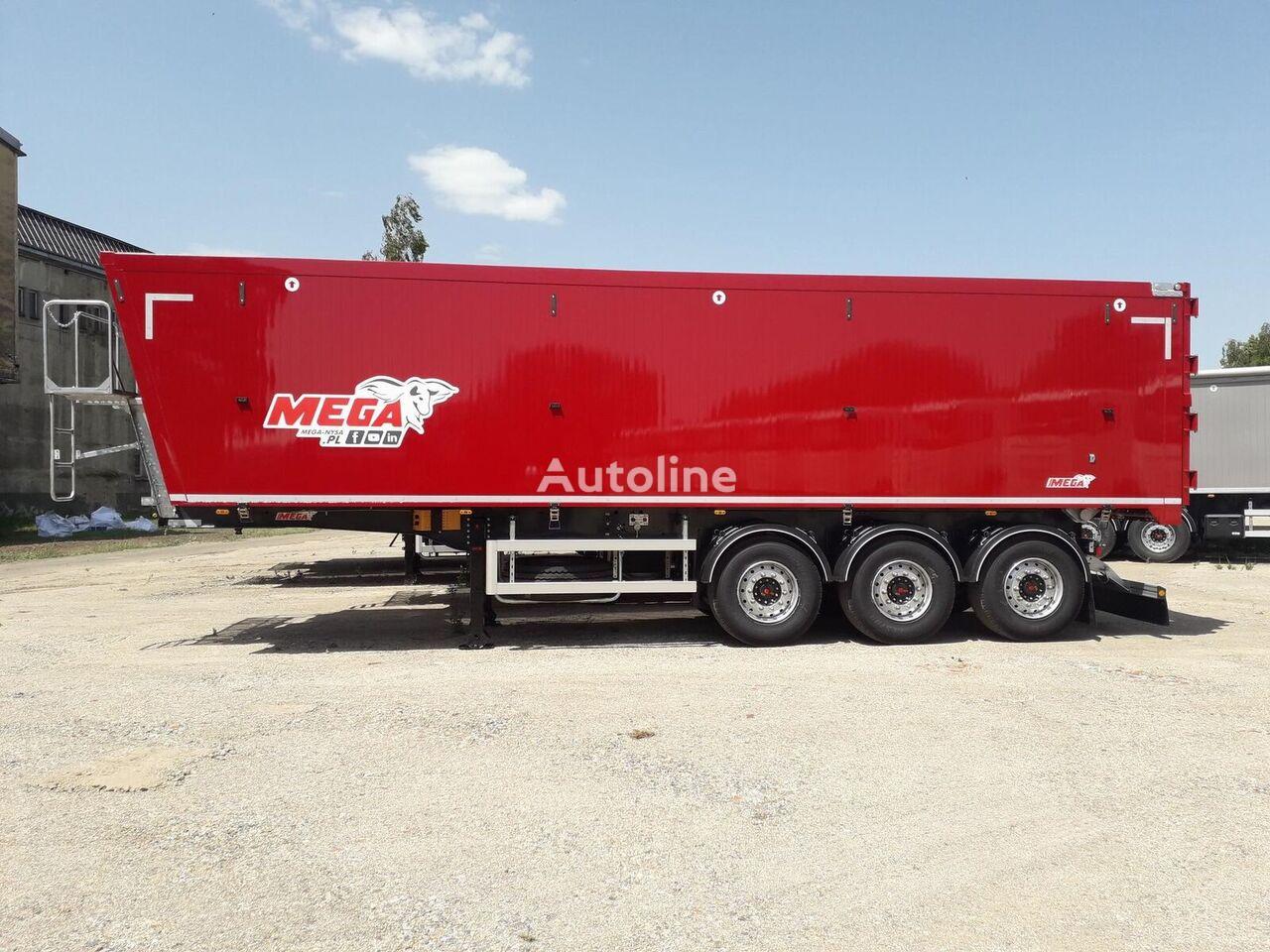 new MEGA Aluminiowa 50m3 tipper semi-trailer