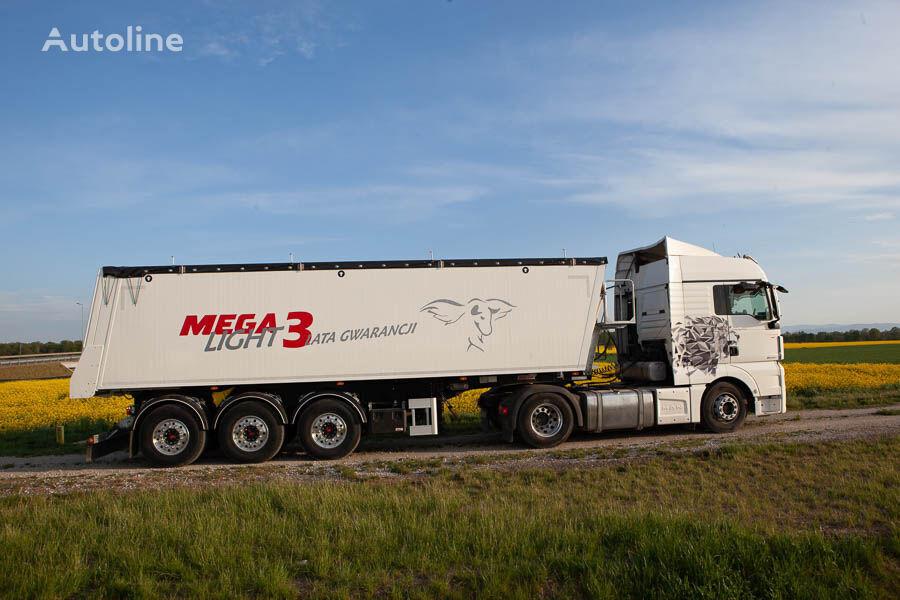 new MEGA LIGHT 3. beznalichnyy raschet s NDS, lizing,garantiya.  tipper semi-trailer