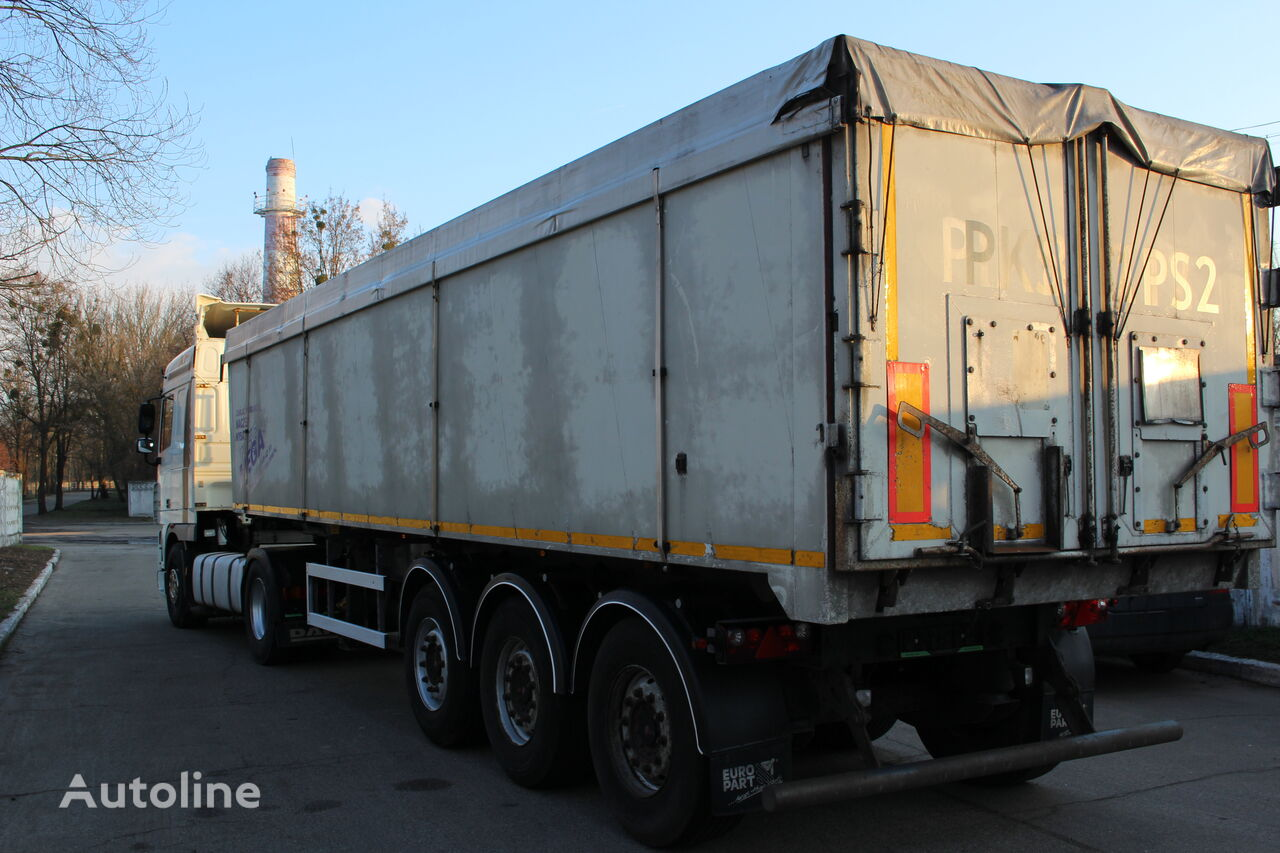 MEGA MNL tipper semi-trailer