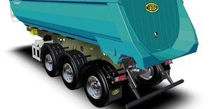 new MEILLER MEILER MEILLER MHPS 41/3-S, dumper / tipper tipper semi-trailer
