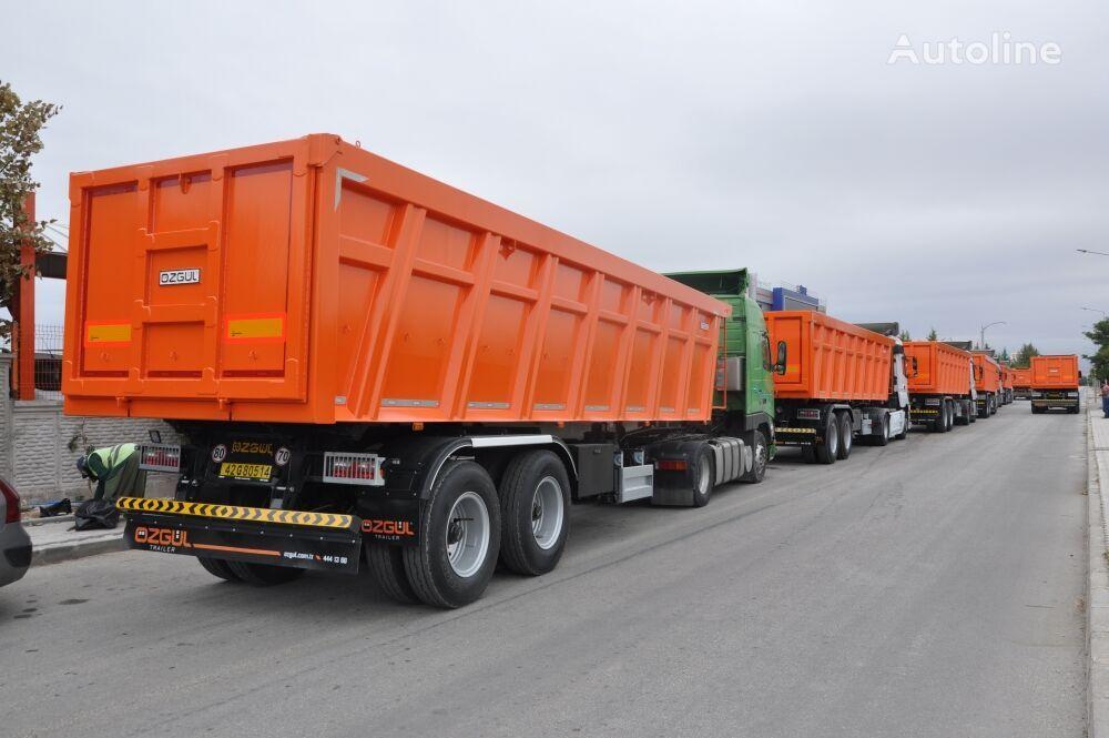 new OZGUL HEAVY DUTY TIPPING SEMI TRAILER (FOR MINING) tipper semi-trailer