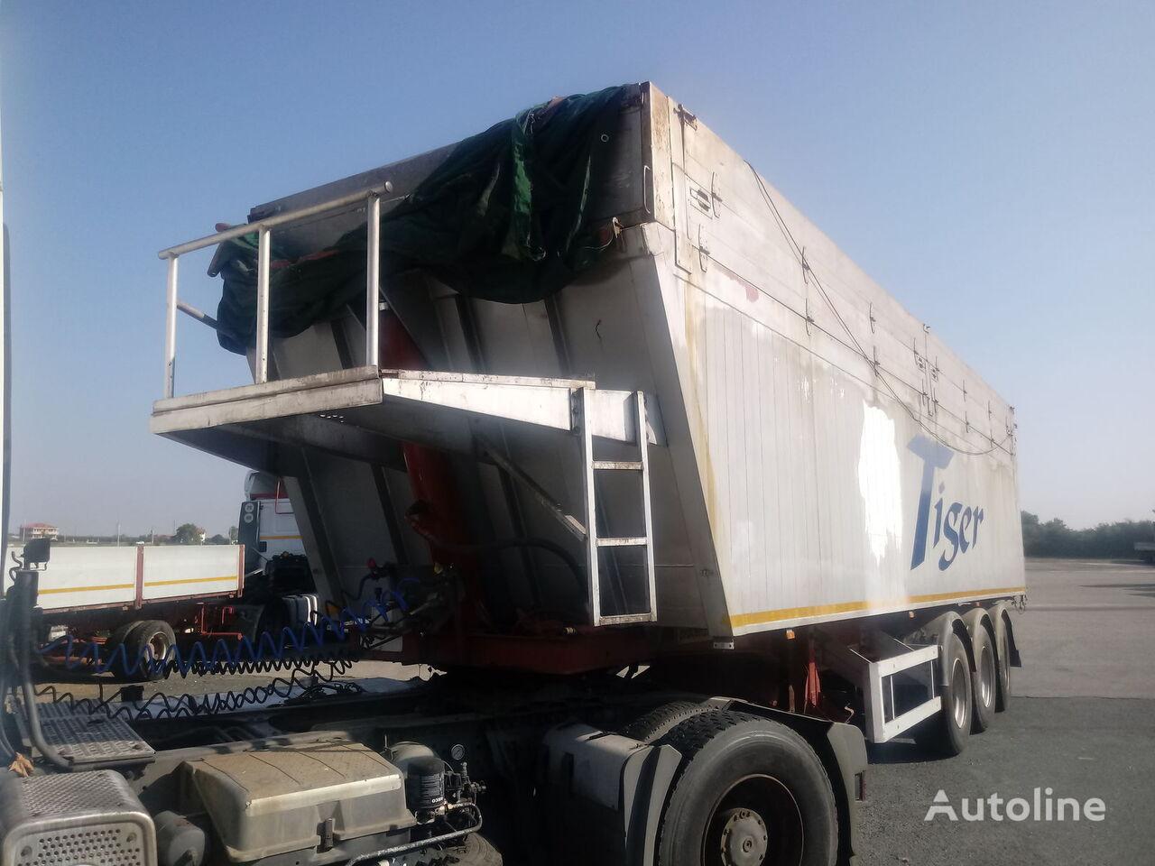 PIACENZA TIGER 35 tipper semi-trailer