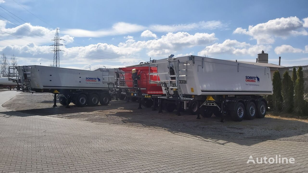 new SCHMITZ CARGOBULL SCB S3D 26m3 oraz 29m3 - dostępne od ręki tipper semi-trailer