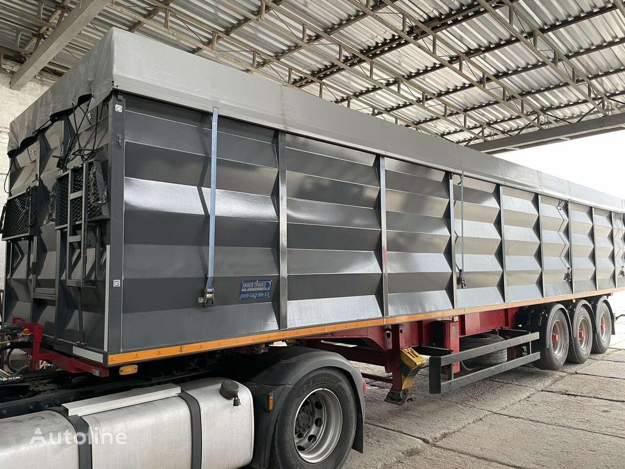 SCHMITZ CARGOBULL SPR 24 Konteynerovoz samosval zernovoz 60m3 tipper semi-trailer