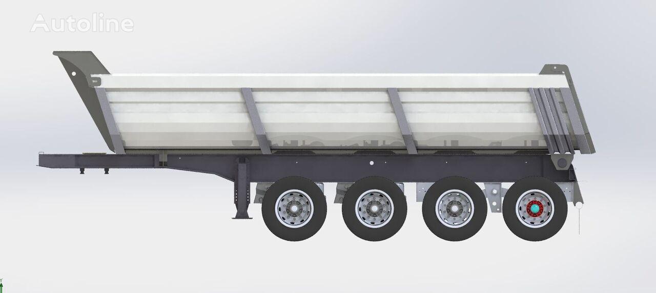 new STAR TRAILER ST2021 Tipper Semi Trailer, Dumper Trailer, Side Dumper Trailer  tipper semi-trailer