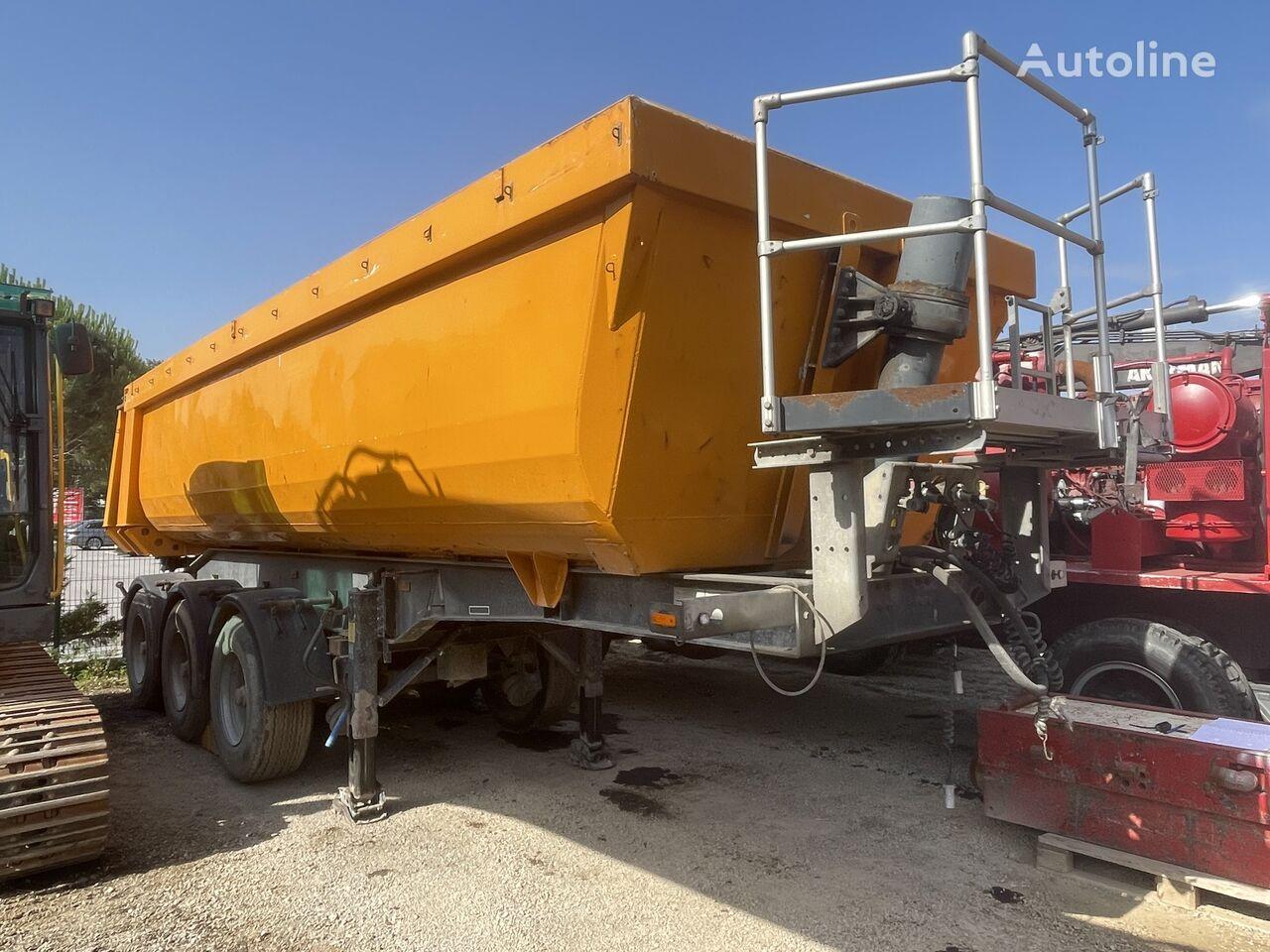 Schmitz SKI 24 tipper semi-trailer