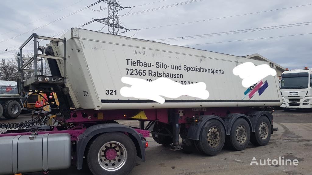 Schmitz SKI 24 7.2 tipper semi-trailer
