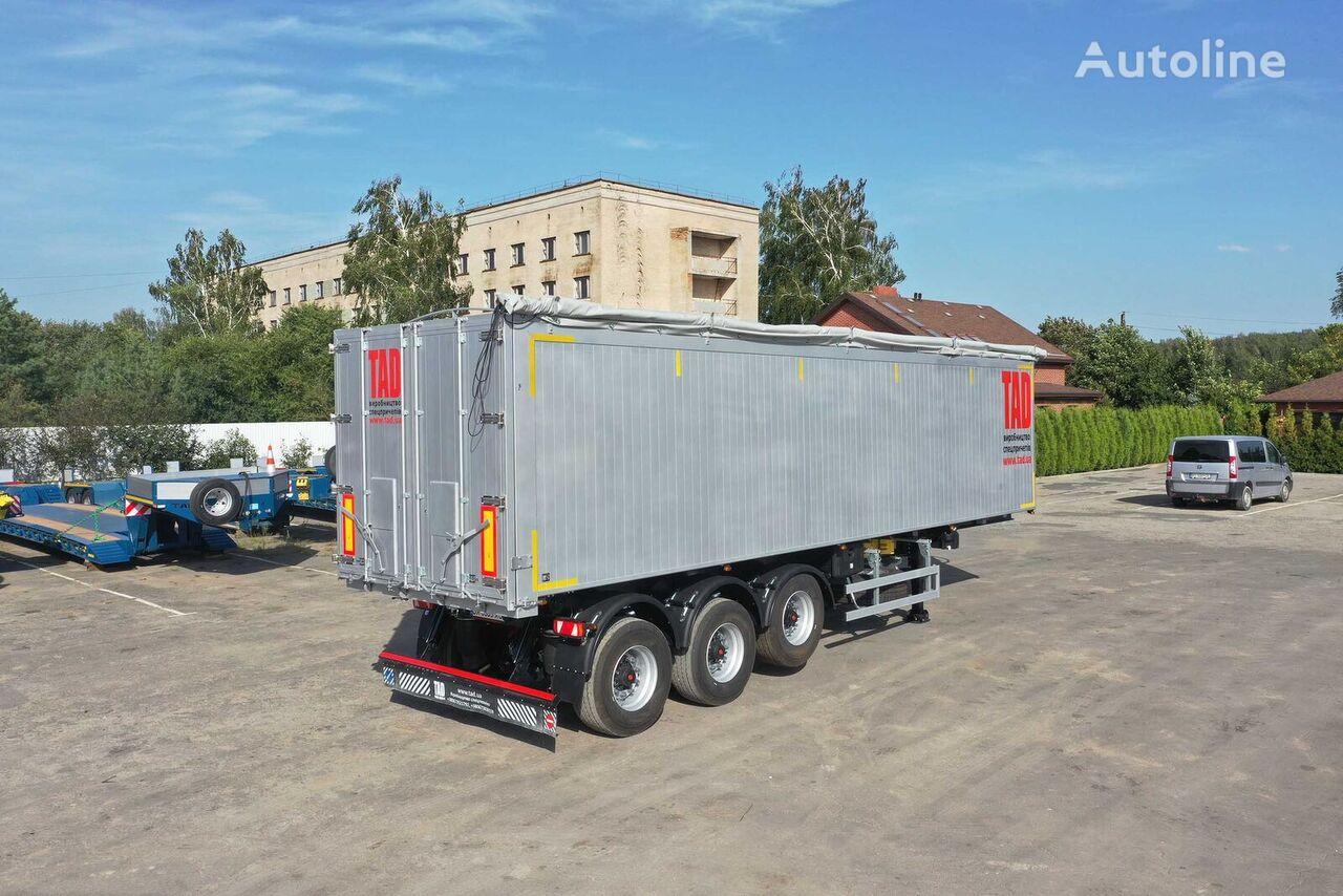 new TAD AGRO 50-3 tipper semi-trailer