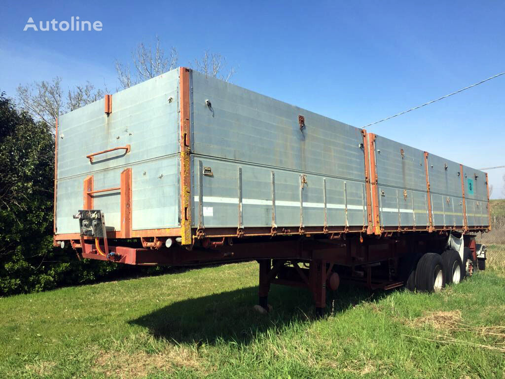 VIBERTI 2-side tipper, tipper Andreoli aluminium from 1990 tipper semi-trailer