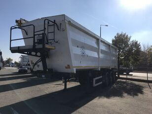 WIELTON ACÉL HARDOX HB 450 52 m3 TÁRCSA BOGI tipper semi-trailer