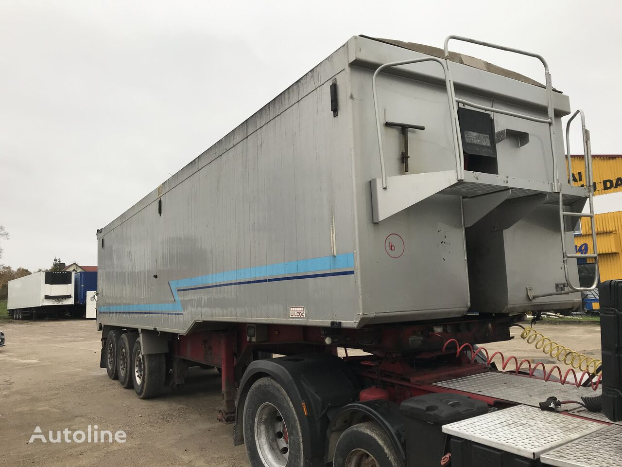 WILCOX 50 tipper semi-trailer
