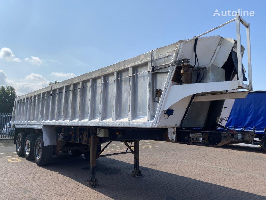 WILCOX ALUMINIUM AGGREGATE TIPPING TRAILER - C111099 tipper semi-trailer