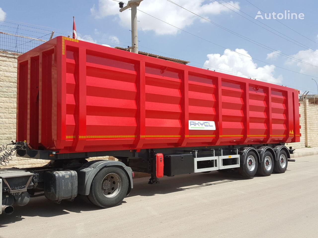 new AKYEL TREYLER Scrap semi trailer tipper semi-trailer