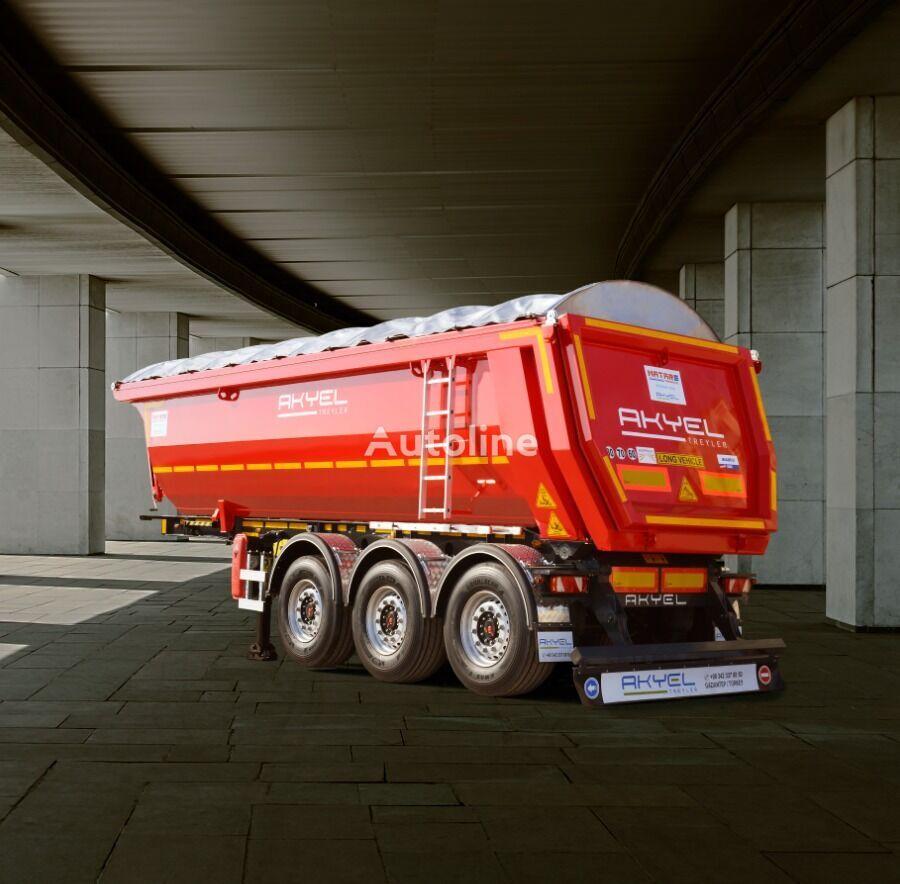 new AKYEL TREYLER inteligente tipper semi-trailer