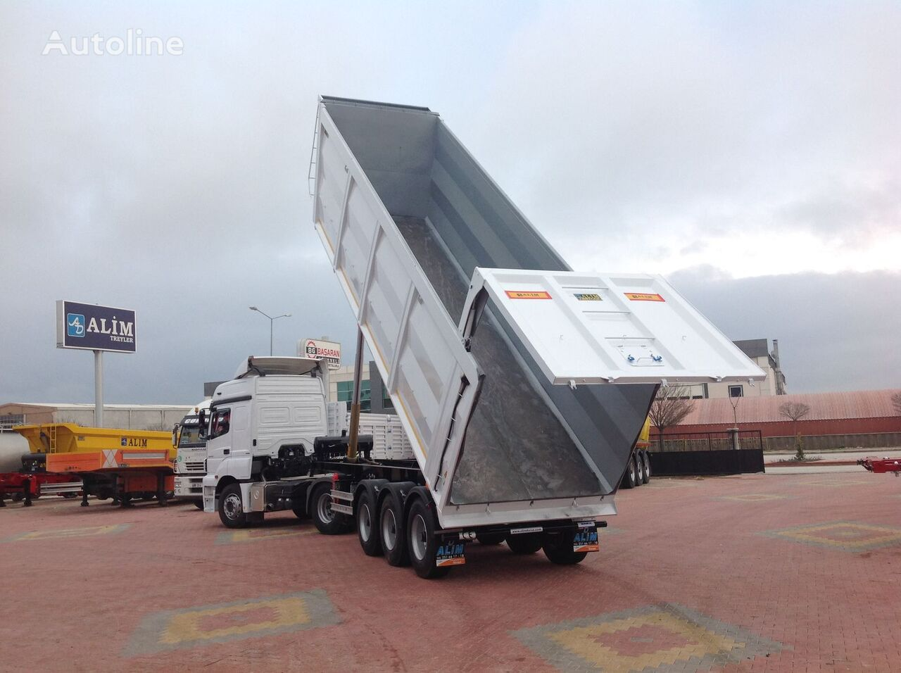 new ALİM DORSE Scrap Tipper Trailer tipper semi-trailer