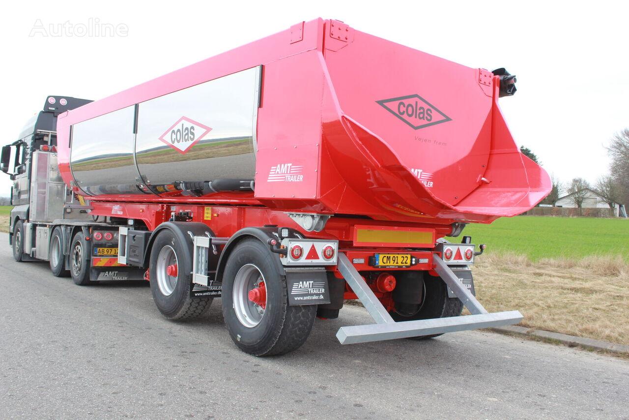 new ATM TA210 2 akslet asfalt trailer m. HARDOX indlæg og Tridec tipper semi-trailer