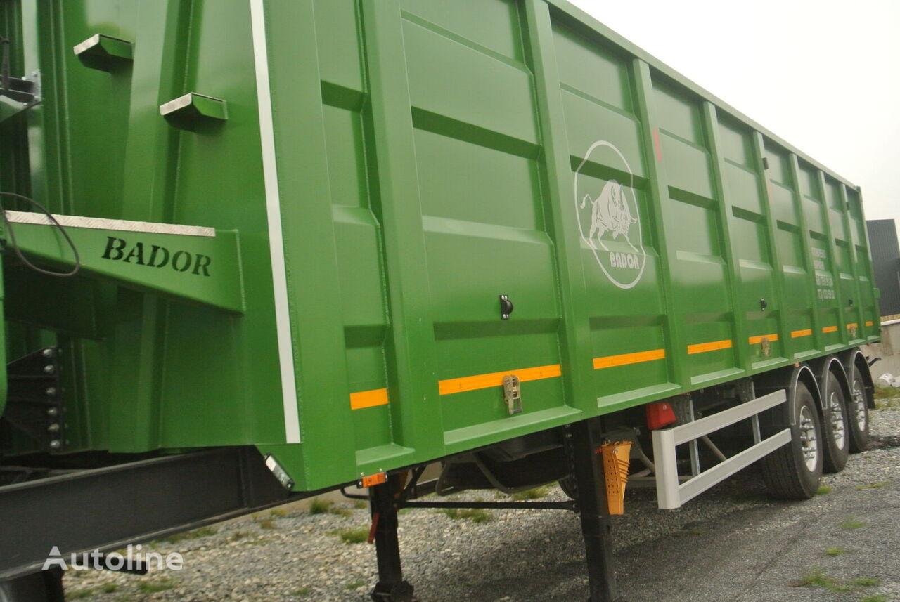 BADOR NP-S 48 tipper semi-trailer