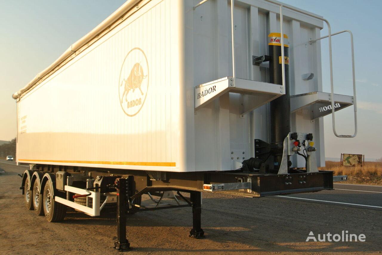 new BADOR NP-S32 tipper semi-trailer