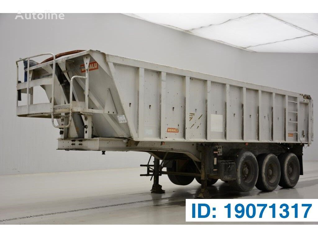 BENALU 26 cub in Alu tipper semi-trailer