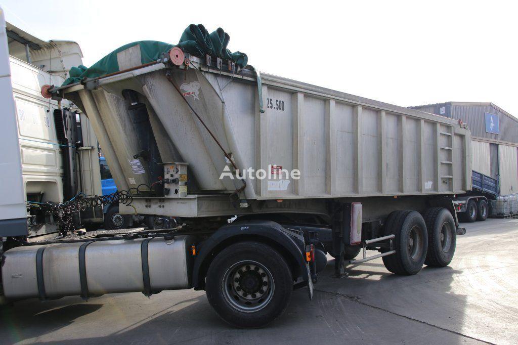 BENALU ALU + BLAD/BLAD-SPRING-STEEL tipper semi-trailer