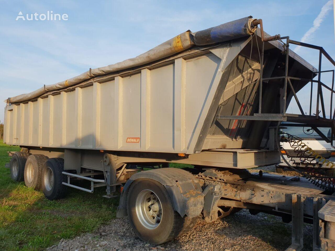 BENALU C34  tipper semi-trailer