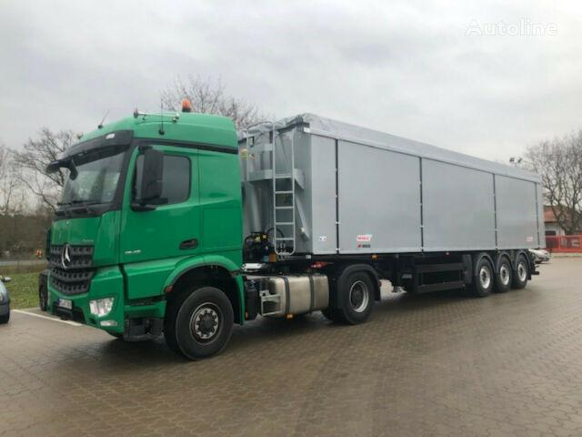 new BENALU Kombiauflieger Twinliner Kipper Tank tipper semi-trailer