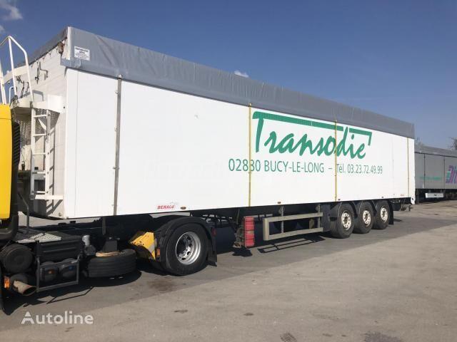 BENALU ÖNKIHORDÓS BOGI TÁRCSA 93 m3 tipper semi-trailer