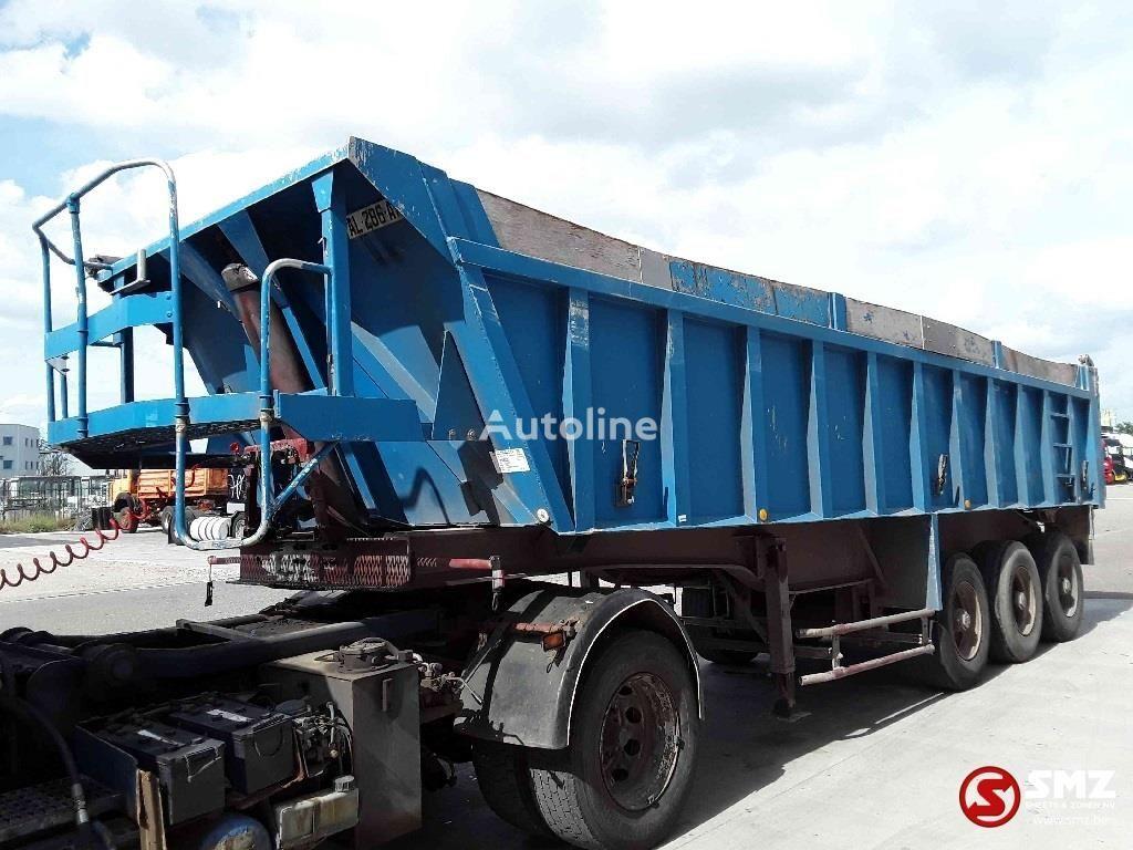 BENALU Oplegger lames/steel tipper semi-trailer