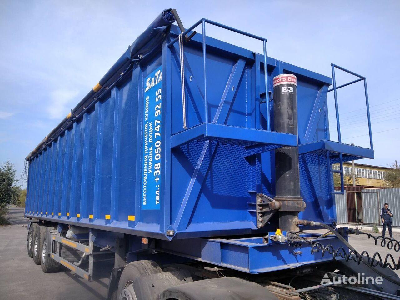 BODEX 55m3 tipper semi-trailer