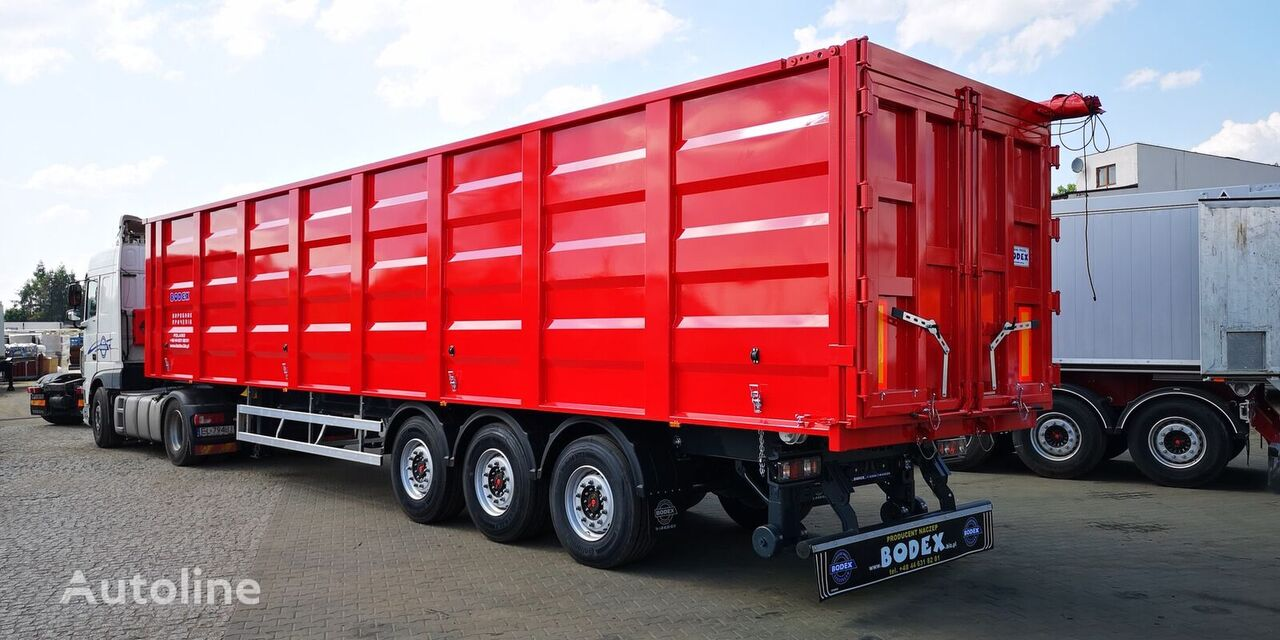 new BODEX KIS 3B tipper semi-trailer
