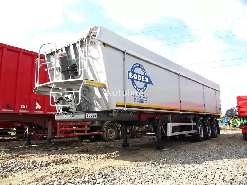 new BODEX KIS 3W tipper semi-trailer