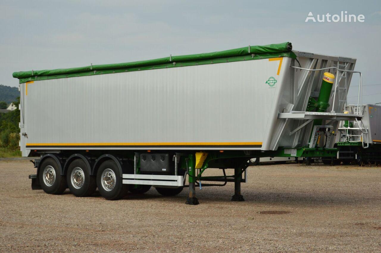 BODEX KIS 3W-A / MERCEDES / DISC / 48,5 m3 !!! tipper semi-trailer