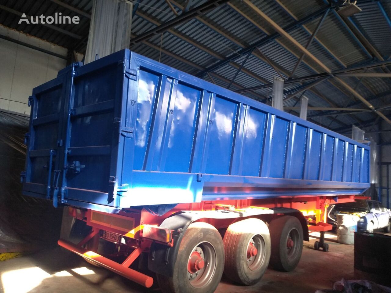 BODEX MADO NW3 (33m3) SAF 33m3  tipper semi-trailer