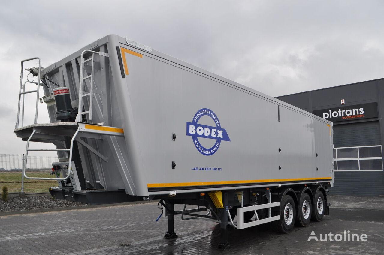 new BODEX Wywrotka 52m3/Klapodrzwi/Saf Intrax/Tarcze tipper semi-trailer