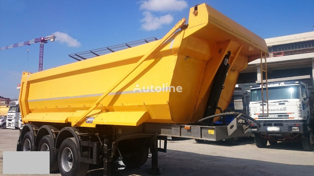 BP AXLE tipper semi-trailer