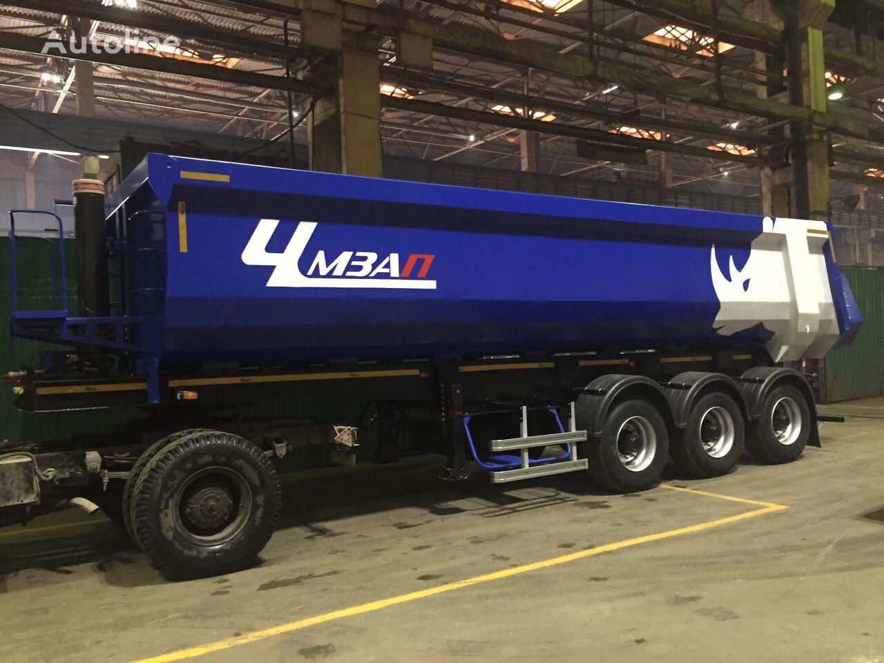 new CHMZAP 9520-022-PPCh tipper semi-trailer