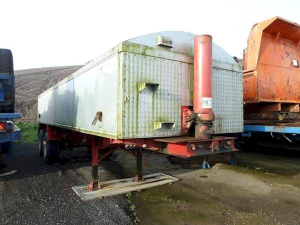 Craventasker SMT543L2A tipper semi-trailer