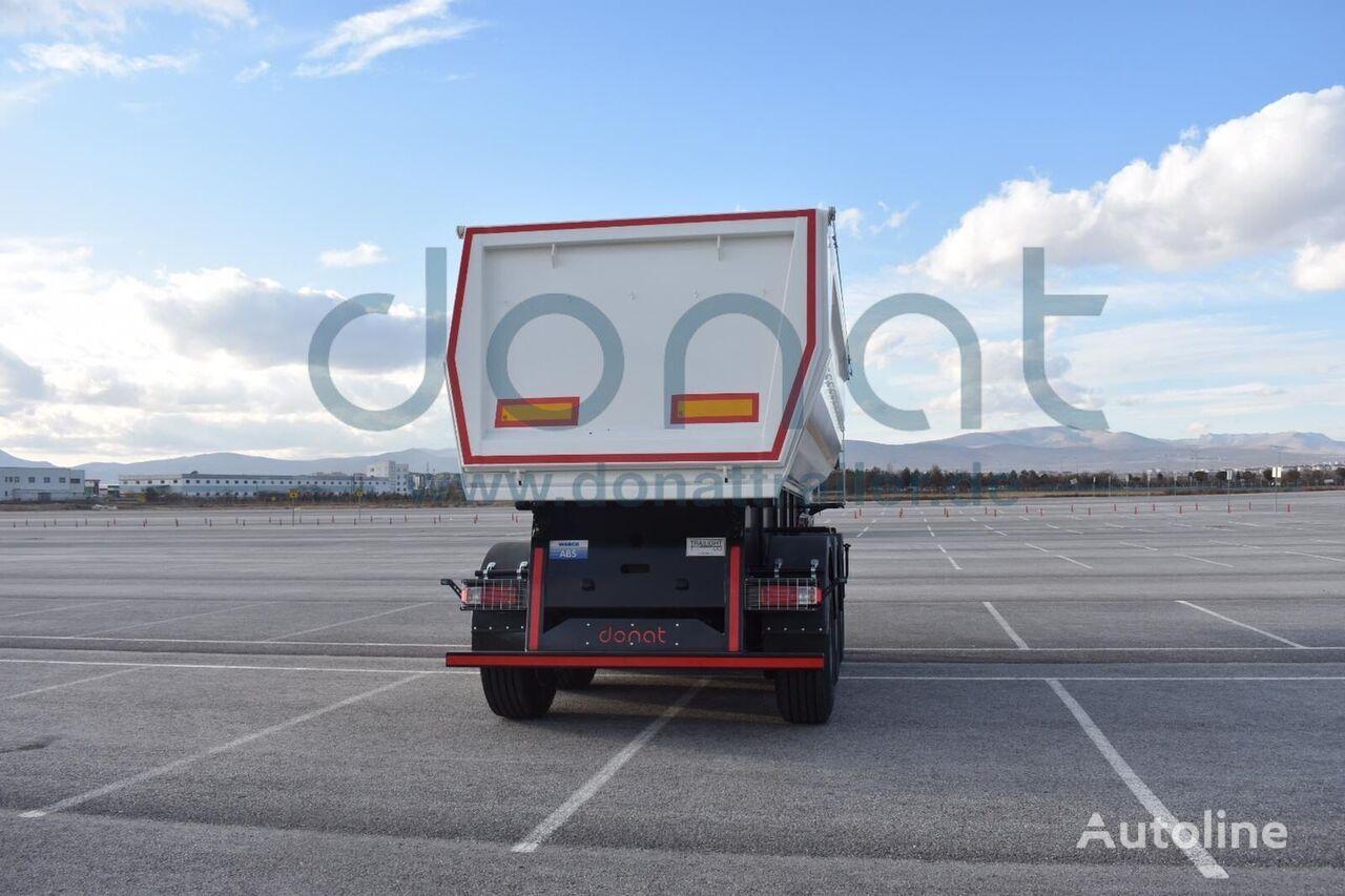 new DONAT Heavy Duty Tipper HARDOX tipper semi-trailer