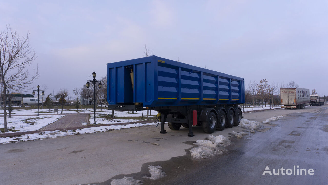 new EMIRSAN 4 Axle Scrap Type // Grain Type , Custom Made , Tipper Trailer  tipper semi-trailer